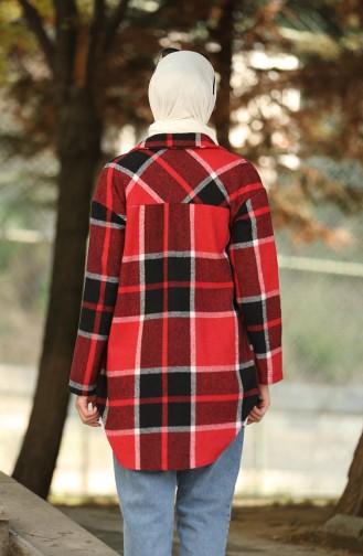 قميص أحمر كلاريت 5330-02