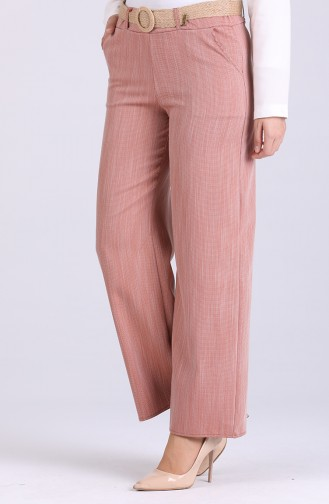 Belted Linen Trousers 7067-03 Tile 7067-03