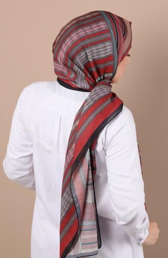 Karaca Dimi Soft Şal 90523-07 Siyah Bordo