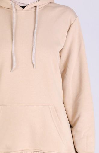Beige Sweatshirt 3001-04