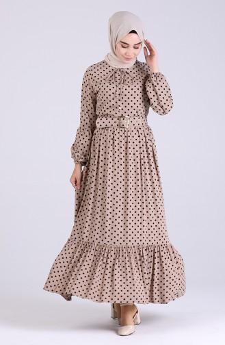 فستان بيج 4554-05