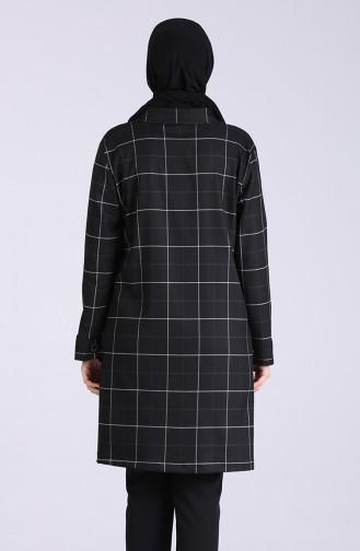 Black Trench Coats Models 4277-01