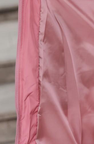 Gilet Sans Manches Rose Pâle 6033-05