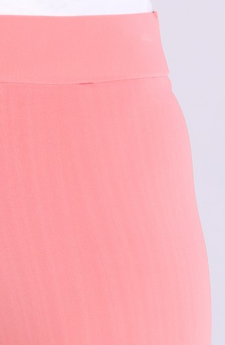 Sandy Inverted Pleat Trousers 4001a-07 Salmon 4001A-07