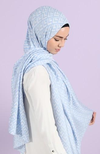 شال أزرق فاتح 444113-01