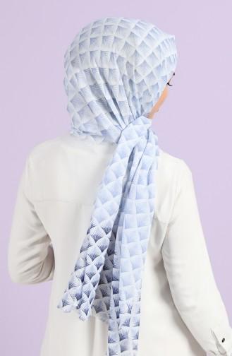 Navy Blue Sjaal 10050-02