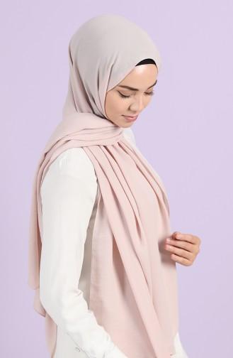 شال بيج مائل الى الوردي 30010-15