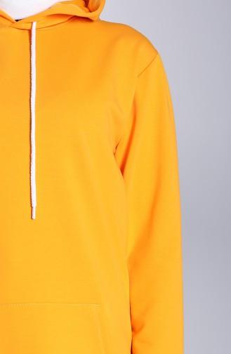 Sweatshirt Orange 20045-08