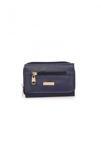 Navy Blue Wallet 53Z-02