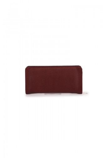 Claret red Wallet 54Z-03