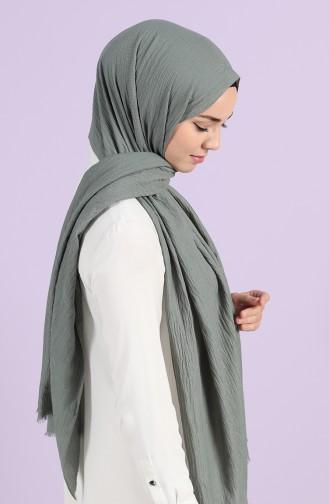 Nefti Yeşil Sjaal 15205-13