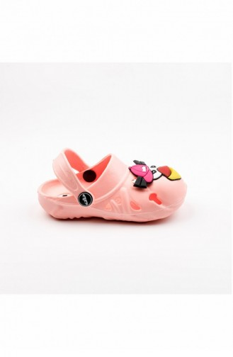 Pink Kids Shoes 2138.FLORASAN PEMBE