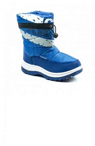 Blue Kids Shoes 2643.MAVI
