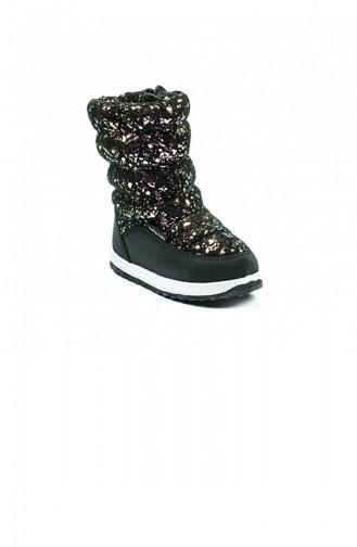Chaussures Enfant Noir 3118.SIYAH