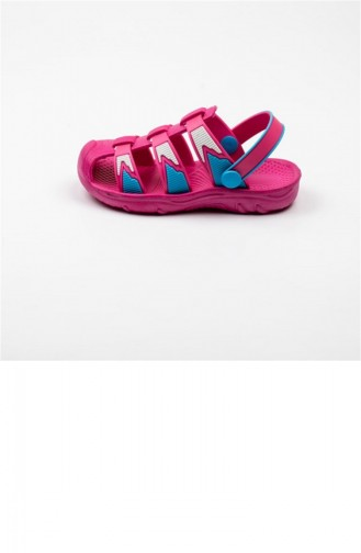 Fuchsia Summer Sandals 3356.FUSYA-TURKUAZ