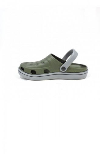 Khaki Summer slippers 2648.MM HAKI-GRI