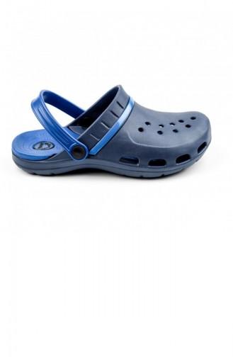 Navy Blue Summer slippers 2724.LACIVERT-MAVI