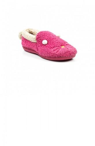 Fuchsia Woman home slippers 1650.FUŞYA