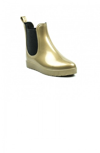 Gold Colour Bot-bootie 1622.ALTIN