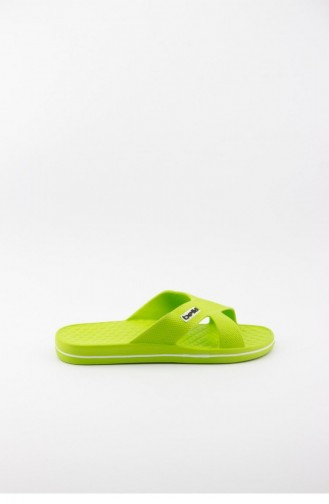 Pistachio Green Summer slippers 1508.FISTIK YESIL