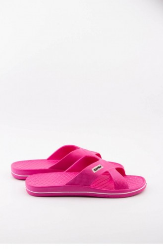 Fuchsia Summer slippers 1508.FUŞYA