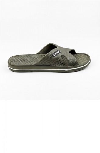 Khaki Summer slippers 1508.MM HAKI