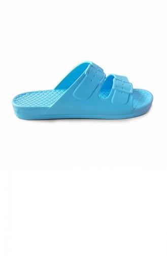 Water Green Summer slippers 2725.SU YESİLİ