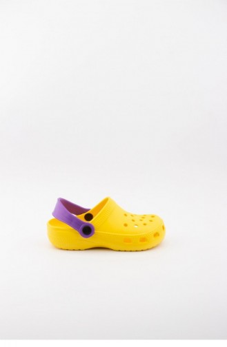 Yellow Kid s Slippers & Sandals 3519.MM SARI-MOR