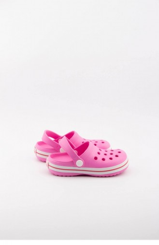 Fuchsia Kid s Slippers & Sandals 3491.MM PEMBE-BEYAZ-FUŞYA