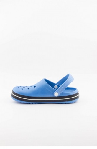 Navy Blue Summer slippers 3464.MM A.MAVİ-LACİ-BEYAZ