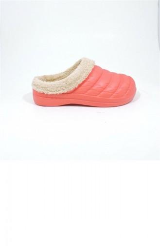 Red Woman home slippers 3462.MM KIRMIZI