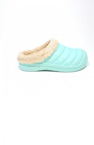 Mint green Woman home slippers 3462.MM MINT