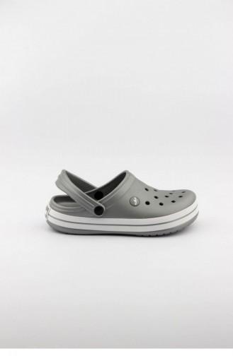 Akınalbella Kadın Sandalet Terlik E195Z000 Mm Gumus Beyaz Gumus