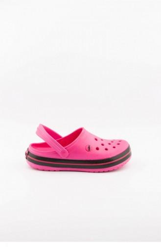 Pink Summer slippers 3459.MM PEMBE-SIYAH-FUSYA
