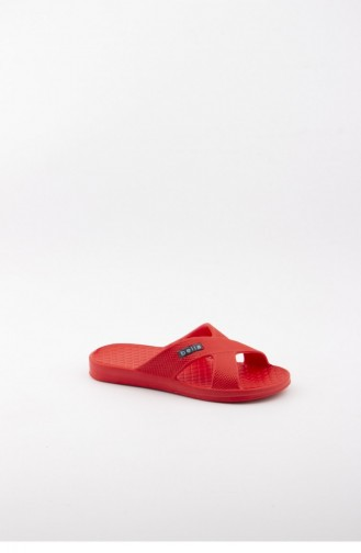 Rot Kinder Pantoffel & Sandalen 1506.MM KIRMIZI