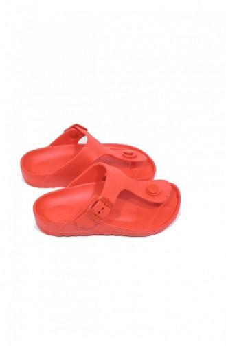 Rot Kinder Pantoffel & Sandalen 3420.KIRMIZI