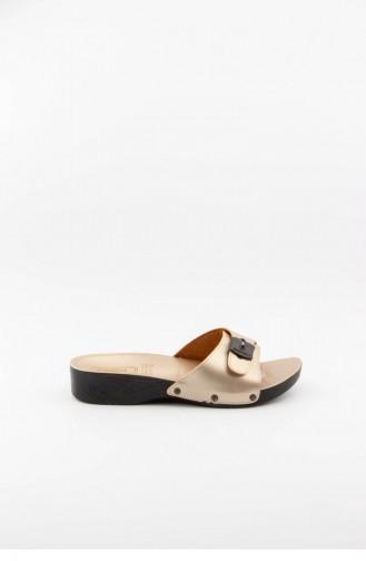Beige Woman home slippers 3533.MM BEJ