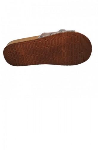 Beige Woman home slippers 1811.BEJ