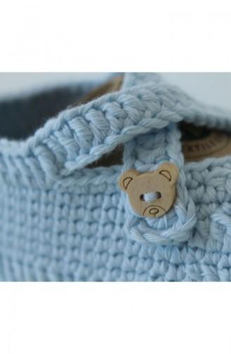 جوارب الاطفال وحديثي الولادة أزرق 1172