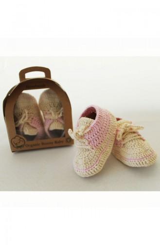 Organic Bonny Baby Organik El Yapımı Spor Patik OBB-OP1201K1 1201