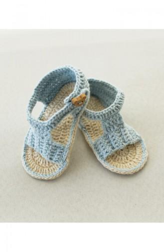 Blau Kinder und Baby-Socken 1222
