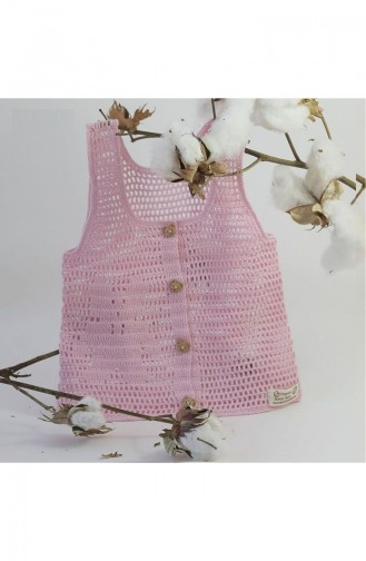 Pink Baby Gilet 3121