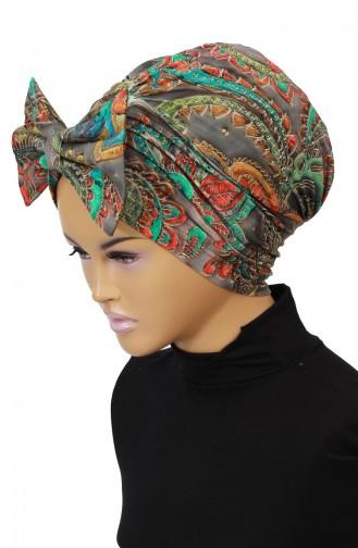 Dark Khaki Bonnet 0011-D-1