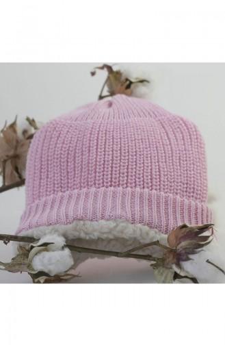 Organic Bonny Baby Organik Bebek Şapkası Bere OBB-OS1541K1Pembe