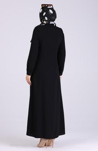 Black Abaya 8042-01
