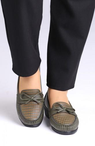 Khaki Casual Shoes 0032-05