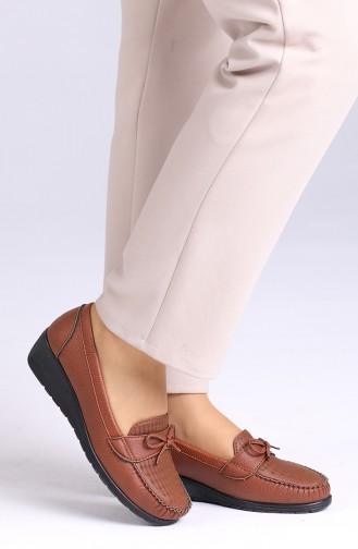 الأحذية الكاجوال أخضر تبغ 0032-06
