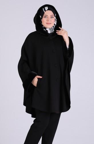 Black Poncho 4950-01
