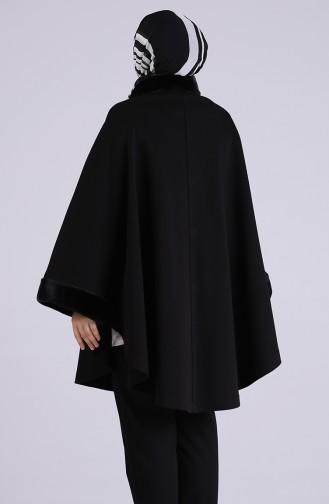 Black Poncho 4951-01
