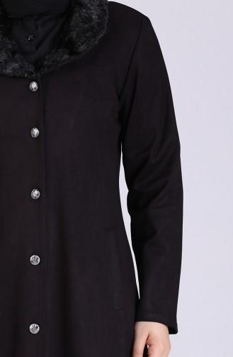 معطف فوقي الأرجواني الداكن 4301-03
